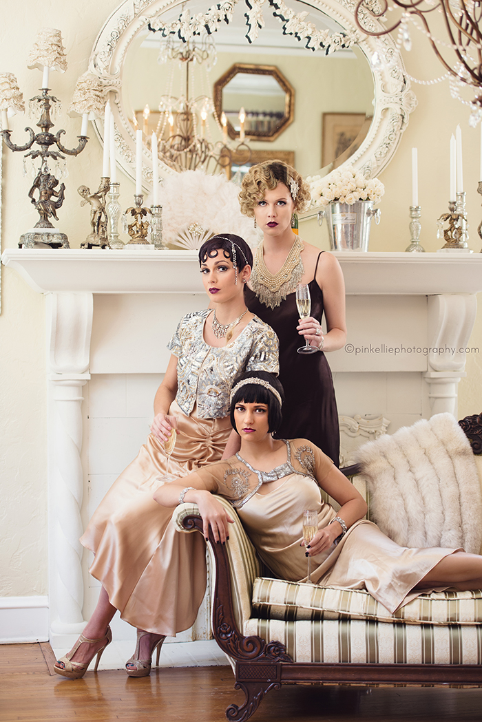 Great Gatsby Glitz And Glamour Girls Fashion Editorial