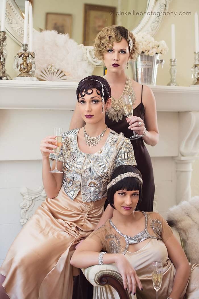Great Gatsby 1920 39 S Glamourous Editorial Photo Shoot